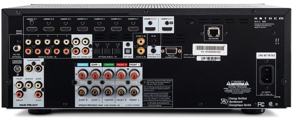 Anthem Mrx 520 Kt Radio